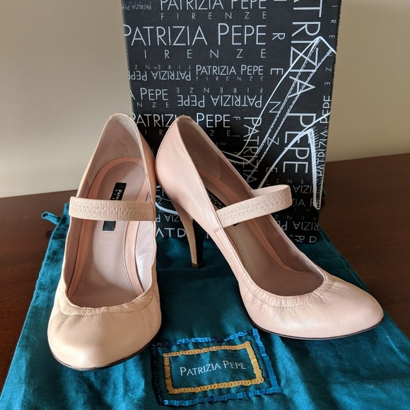 Patrizia Pepe Shoes - Beautiful cream leather pumps